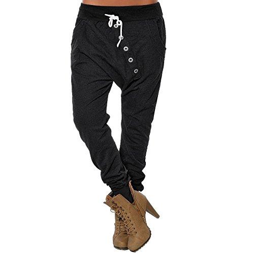 JMETRIC Damen Freizeithose |lose Hosen | Pumphose |Moderne Stoffhose| Drawstring Hosen | Hohe Taille Hosen - Ultra-low-rise-skinny Leg-jeans