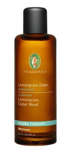Primavera Bio-Saunaaufguss & Saunatherapie Lemongrass Zeder