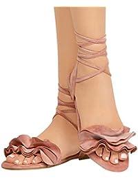 ae465c3c6be Amazon.es  Cordones - Zapatos de tacón   Zapatos para mujer  Zapatos ...