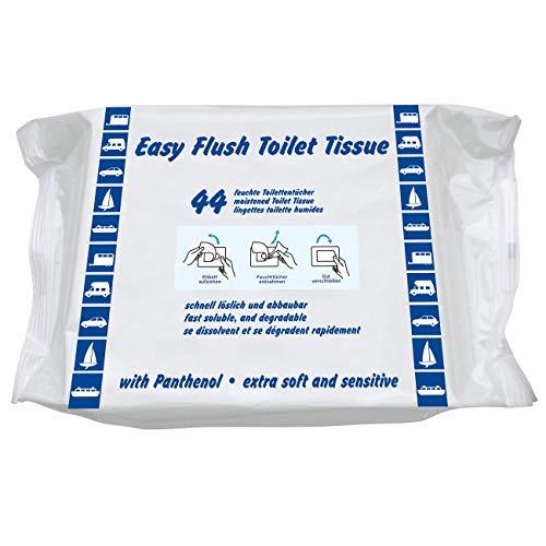Yachticon Easy Flush Toiletten Tücher - 44 Stück -