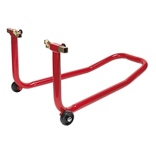 Sealey FPS1 Universal Front Wheel Stand with Lifting Pin Supports, Red - Best Price