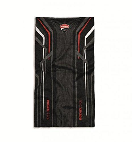 Ducati Corse Halstuch schwarz/rot/weiß