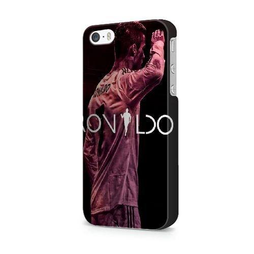 COUTUM iPhone 5/5s/SE Coque [GJJFHAGJ74971][BTS BANGTAN BOYS THÈME] Plastique dur Snap-On 3D Coque pour iPhone 5/5s/SE C. RONALDO - 016