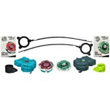 Beyblade - Metal Masters - LIGHTNING SWORD SHOWDOWN 2-PACK / 2 piezas : RAY STRIKER (BB-71A) - D125CS ATTACK + INFERNO GASHER (B-114) - SW145SF BALANCE- Hasbro