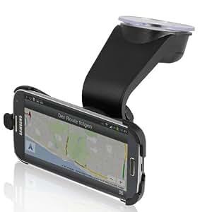 Wicked Chili DESIGN KFZ Halterung für Samsung Galaxy S4 i9500 i9505 LTE Car Mount (Schnellverschluss Quick Fix, vibrationsfrei, Made in Germany)