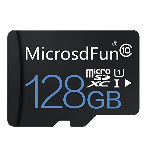 128GB Ultra 128GB Micro SDXC UHS-I Card Class 10 with Adapter High Speed Memory Card TF Card
