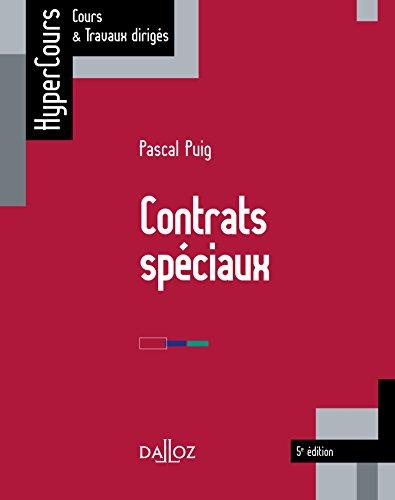 Contrats spciaux - 5e d.