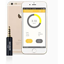 "Medidor de Radiación Smart Geiger Counter Nuclear Radiation Dosimeter ""X-Ray"" and ""Gamma"" Detector Smartphone Android IOS with App"