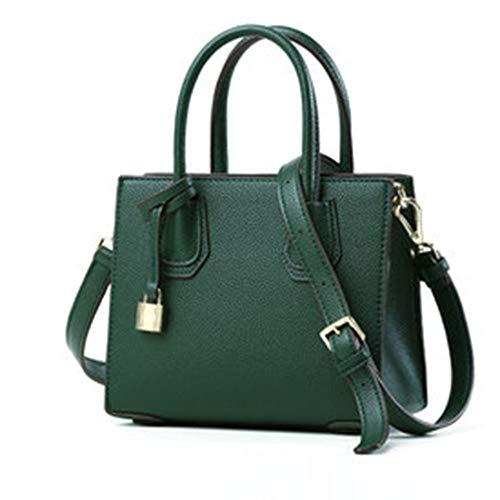 LISAWEI Handtasche Damen Satchel PU Wasserdichte Mode Tourismus Empfang Tasche (größe :...