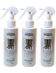 3 x Loreal tecni.art Pli Thermo Spray 190ml