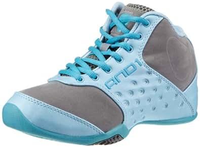 AND1 Reign Mid 1001203062, Chaussures de basketball femme - Violet-TR-H5-40, 36 EU
