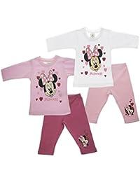 Minnie Mouse warmes zweiteiliges Babyset, kuschelige warme Hose