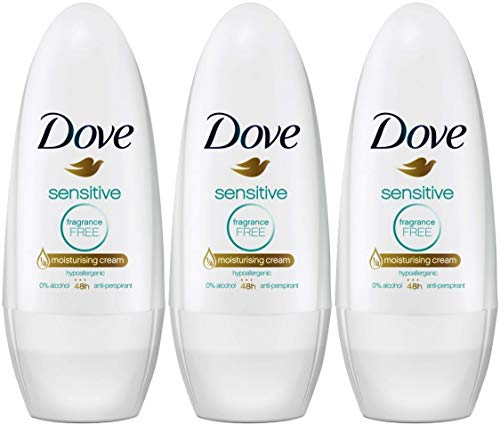 Dove Deo Roll-On Pure, 3er Pack (3 x 50 ml) -