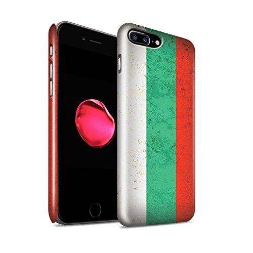 STUFF4 Glanz Snap-On Hülle / Case für Apple iPhone 6+/Plus 5.5 / Mazedonien/Mazedonisch Muster / Europa Flagge Kollektion Bulgarien/Bulgarisch