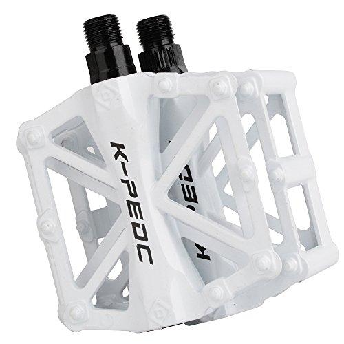 TXJ Pedali per City/Bici Della Strada/Scatto Fisso Bicicletta/MTB, 2 pezzi (bianco)