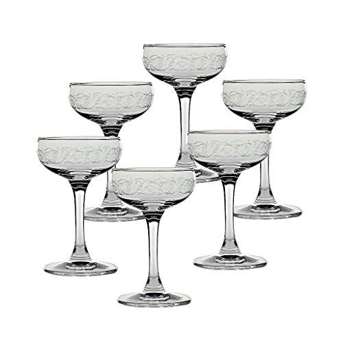 6 x Eierlikörschale, Likörschale, Schnapsglas