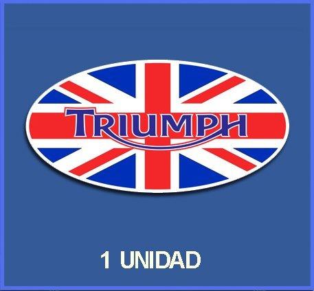 Ecoshirt 04-U3PQ-2AKA Pegatinas Stickers Triumph Ref: Dp259 Aufkleber Autocollants Adesivi Moto Decals,...