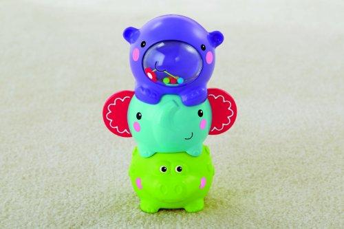 Mattel-BGP41-Fisher-Price-Stapelfreunde-3-niedliche-Tiere