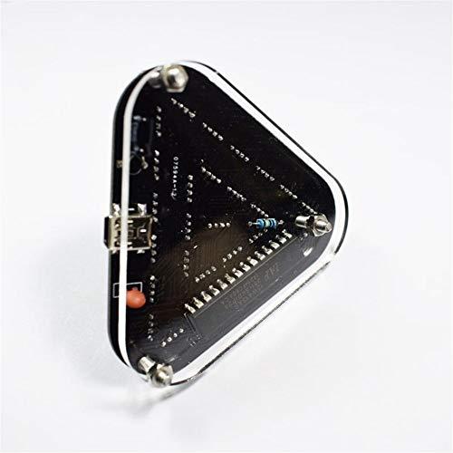 Lin Feng Xin Mu Cai Starter Kit 5 MM LED Dreieckspyramide Kit DIY Touch Control RGB Vollfarbe