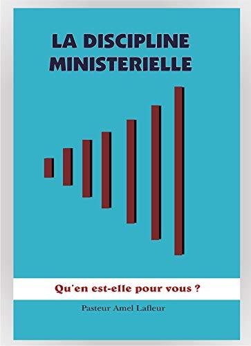 Couverture du livre La Discipline Ministérielle