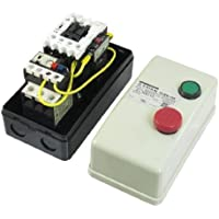 Ein Aus Schalter Enclosed 3 Pole Motor Magnetic Starter 380V Coil 12.5-18A