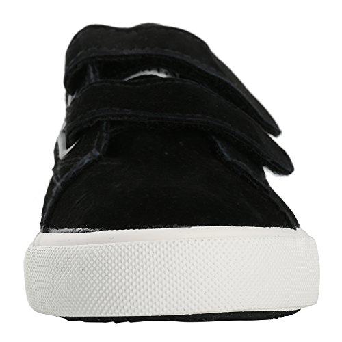 Alexis Leroy Classico, Sneaker a Collo di pelle Basso Bambina Nero