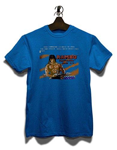Rambo First Blood T-Shirt Royal Blau