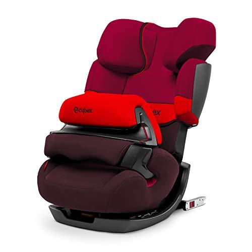 CYBEX Silver 2-in-1 Kinder-Autositz Pallas-Fix, Für Autos mit und ohne ISOFIX, Gruppe 1/2/3 (9-36 kg), Ab ca. 9 Monate bis ca. 12 Jahre, Rumba Red Rote 9