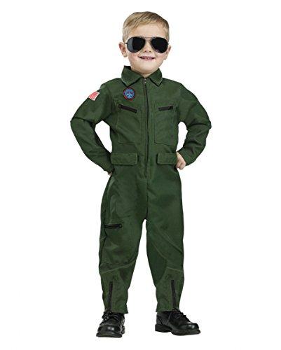 Top Gun Piloten Kleinkinderkostüm für Fasching & Halloween (Maverick Kostüme Film)