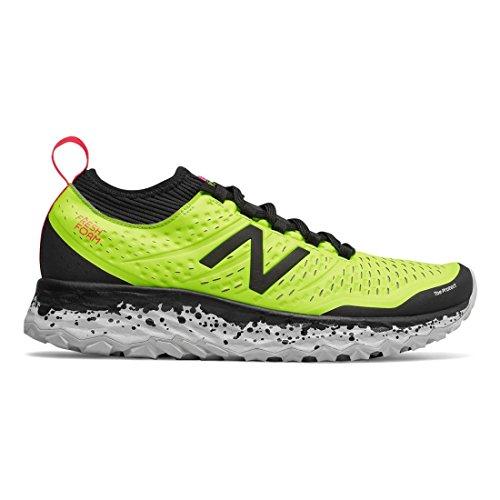 New Balance Fresh Foam Hierro V3, Zapatillas de Running para Asfalto para Hombre, Amarillo (Hi LiteBlackBright Cherry Y3), 45.5 EU