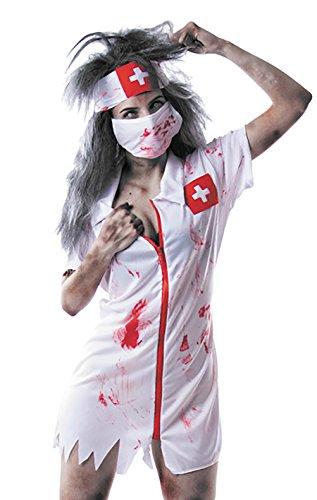 Pro Kostüm Zombie - Party Pro-86557-Kostüm Krankenschwester Zombie, Größe 38