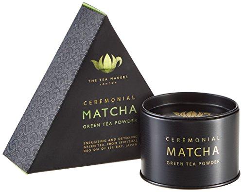 The Tea Makers of London  Japanischer Matcha bester Zeremonientee grüner Tee vom Teekontor mit prämierten Teesorten, 1er Pack (1 x 40 g)