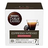 NESCAFÉ Dolce Gusto Espresso Intenso Decaffeinato, 3 Confezioni da 16 Capsule (48 Capsule)