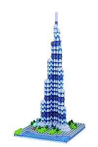 Nanoblock NAN-NBH122 Burj Khalifa - Puzzle en 3D