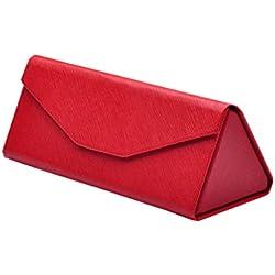 Mode Schön Sonnenbrillen Etui Damen mit Viele Farben (Rot)