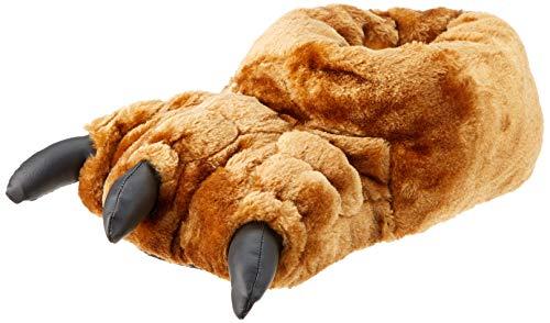 Slumberzzz Herren Neuheit Plüsch Monster Klaue Füße Hausschuhe (42/43) (Hausschuhe Monster Fuß)