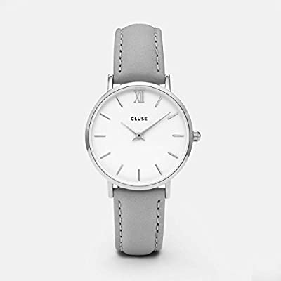 Watch Cluse Minuit Silver White / Grey CL30006