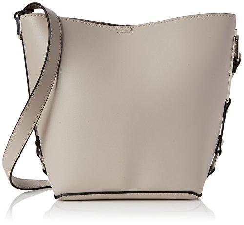 New Look Bethan Sleek, Sacs portés main femme, Off-White (Stone), 15x25x33.5 cm (W x H L)