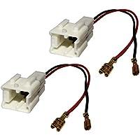 AERZETIX: 2x Conectores adaptadores para altavoces de coche, vehiculos C10867