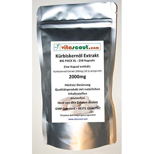 250 Kapseln Krbiskernl Extrakt 2000 Hochdosiert Pn 10242