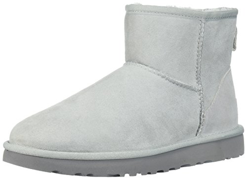 UGG W Classic Mini II Grey Violet, Größe:41 (Ugg Lammfell Care Kit)