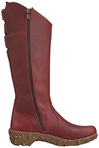 El Naturalista Damen NE20 Grain Yggdrasil Langschaft Stiefel Rot (RIOJA NRZ)