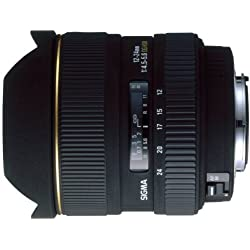 Sigma Objectif Zoom Grand Angle 12-24 mm F4,5-5,6 EX DG ASPH HSM - pour Canon