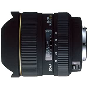 Sigma 12-24mm F/4.5-5.6 EX DG HSM Zoom Lens for Canon Digital and Film Camera