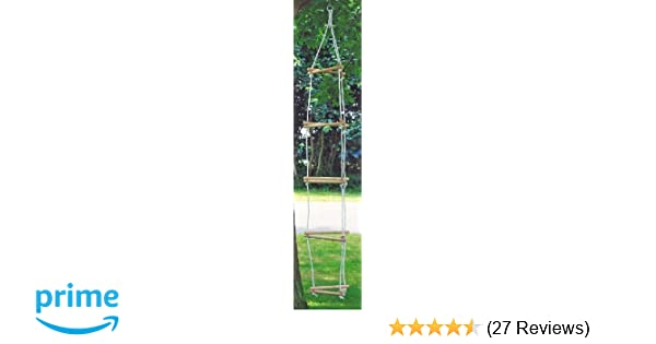 Toys Pure 15 Rung Triangular Rope Ladder: Amazon.co.uk: Toys & Games