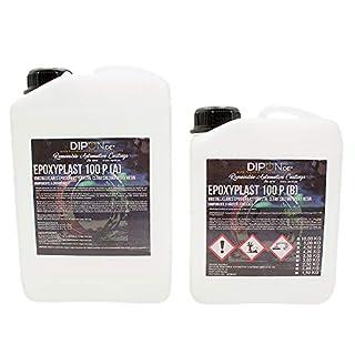 3,0 KG Epoxidharz EpoxyPlast 2K EP Holz Glasklar Laminierharz Gießharz Epoxy für GFK Tisch Boden Terra Aquarium UV Stabil