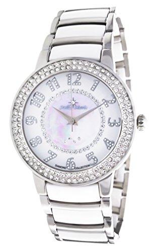 Stella Maris STM13G461 - Reloj de cuarzo con correa de cerámica para mujer, color blanco