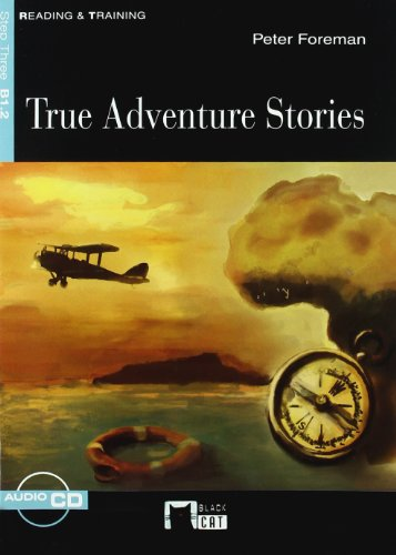 True Adventures Stories + Cd (Black Cat. reading And Training)