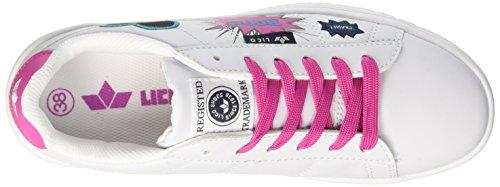 Basse Attraction Geka Weiss Scarpe pink Bianco Donna pink Ginnastica Weiss da dUIIxr4