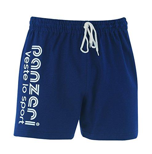 panzeri - UNI (A) - Shorts 100% cotone Navy - White